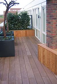 Moodboard tuin on pinterest tuin ibiza style and ibiza - Terras hout ...